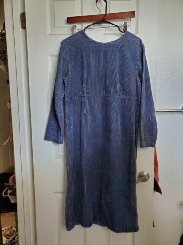 Vintage Williwear Corduroy Blue Peasant Prairie Ma