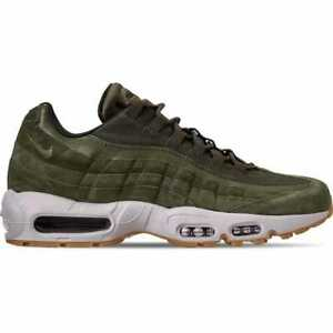 185a330d19 Men's Nike Air Max 95 SE Casual Shoes Olive Canvas/Sequoia AJ2018 ...