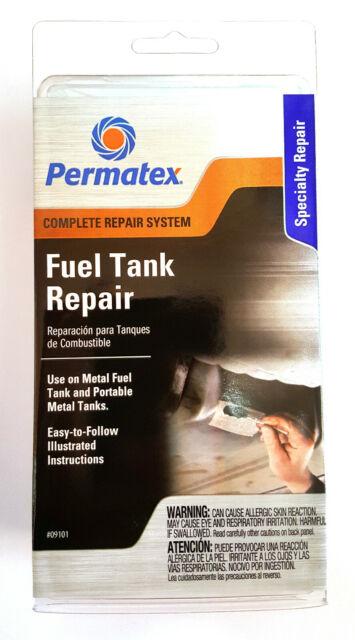 Permatex 09101Fuel Tanque Reparación Uso en Metal Combustible Depósito y