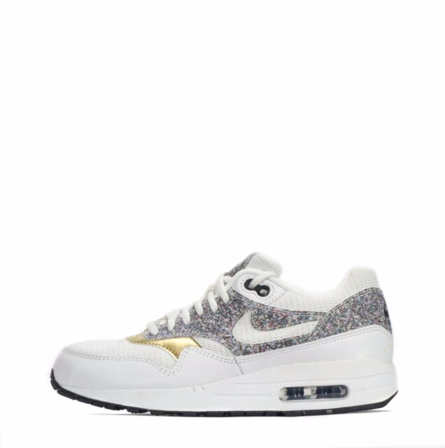 first rate 1e70d 7b3c2 Nike Air Max 1 SE Donna Scarpe Bianche Black