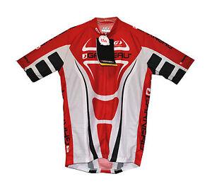 new genuine Louis Garneau raglan pro cycling jersey diamond fabric Made in USA