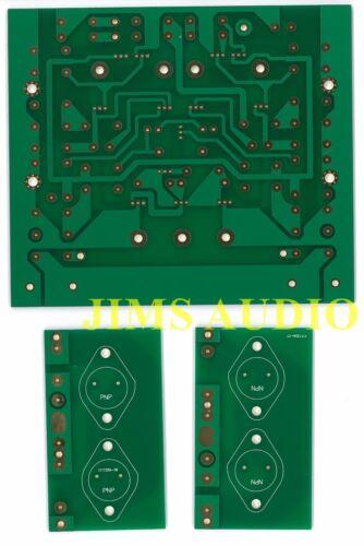 High Power Pure Class A amplifier PCB KSA50 mkii !