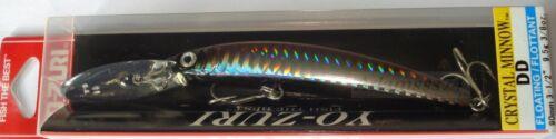 Yo Zuri Crystal Minnow Deep Diver 90mm.9.5gr.ALL 36 Couleurs,Japon Leurre de