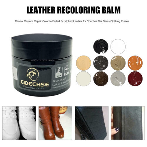 Leather Repair Paste Shoe Cream Leather Polish Coloring   Wax 10 Color