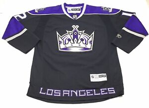 outlet store sale 09f36 cb166 Details about Reebok Vintage NHL LA Kings Stitched #12 Jersey Mens Black  Size Large