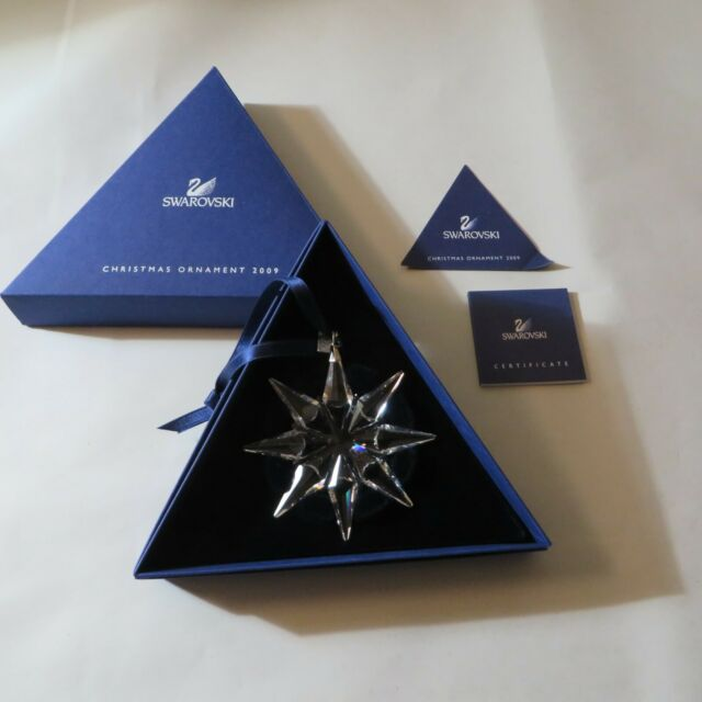 2009 Swarovski Crystal Christmas Ornament Star Snowflake ...