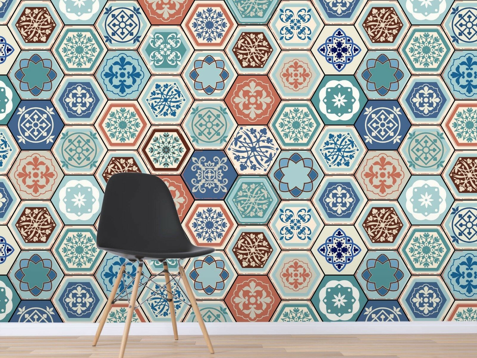 3D bluee Pattern 899 Wallpaper Mural Paper Wall Print Indoor Murals CA Summer