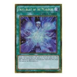 PGL3-EN012 Frost Blast of the Monarchs PREMIUM GOLD 3 YU-GI-OH