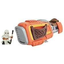 2017 Star Wars Micro Force Jakku Rey/'s Speeder Vehicle Hasbro Disney