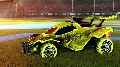 Rocket League Saffron Hypnotik For Xbox One 641275672358 Ebay
