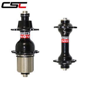 Black Red Novatec A271SB//F372SB bike hub shimano 8//9//10//11 speed 20//24 hole
