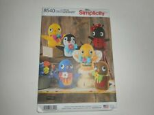 One Size Simplicity Creative Patterns US8442OS Sewing Pattern Crafts
