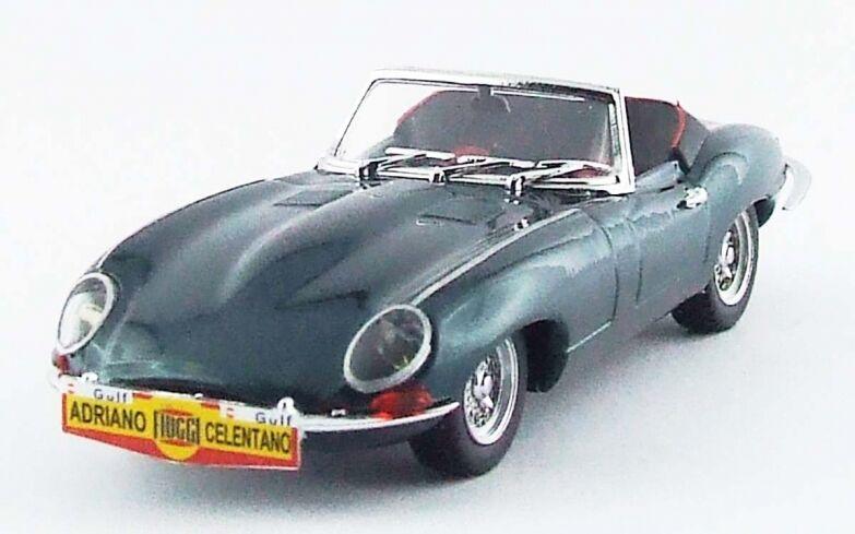 BEST MODEL BES9618 - Jaguar Type E cabriolet vert métalisé   1/43