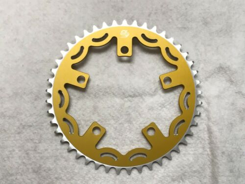 Snap BMX Products Series II 110mm 5 bolt Chainring 45t Gold
