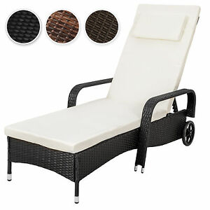 chaise longue bain de soleil meuble de jardin en r sine. Black Bedroom Furniture Sets. Home Design Ideas
