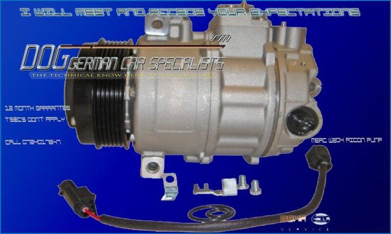 Mercedes Benz air-con compressors c180,c200 c220 w204