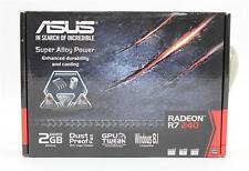 Asus Video Card R7240-2GD3-L AMD Radeon R7 240 2GB DDR3 PCI Express 3.0 128Bit