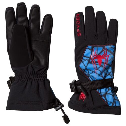 Spyder Marvel Overweb Gloves,Ski Snowboarding Gloves,Size M Black//Spiderman,NWT