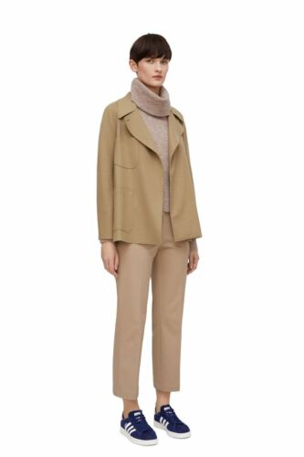 100 Over Jacket 6 8 Arket Wool Tan 34 Wrap Camel Coat fxgXqEY