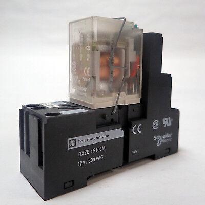 2 PCS TELEMECANIQUE RHZ13 Relay socket 16-pin Schneider Electric