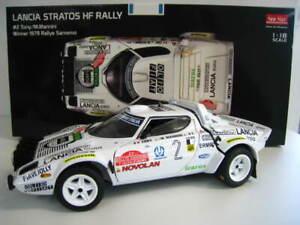 Lancia-Stratos-HF-Rally-Winner-1979-Rallye-Sanr-Remo-Sun-Star-1-18-NEU-OVP
