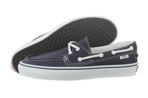 ba02b267a21 Image is loading VANS-Zapato-Del-Barco-Navy-Boat-Shoes-VN-
