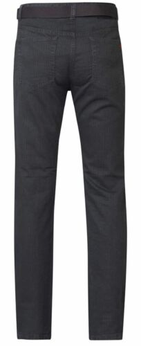 in Charcoal Canary Duke London Mens Big Size Bedford Cord Enzyme Washed Jeans