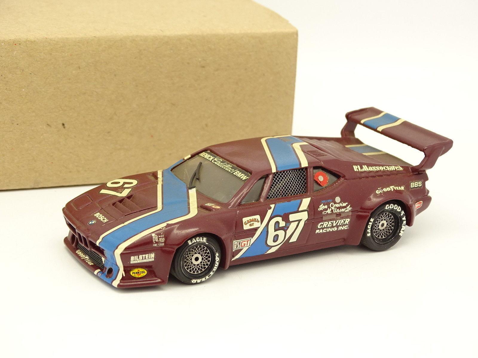 Solido Transkit Record 1 43 - BMW M1 Mid Ohio 1981 N°67 Al Unser - Crevier