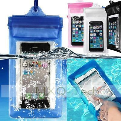Transparent Waterproof Underwater Pouch Bag Dry Case Cover For Mobile Phones