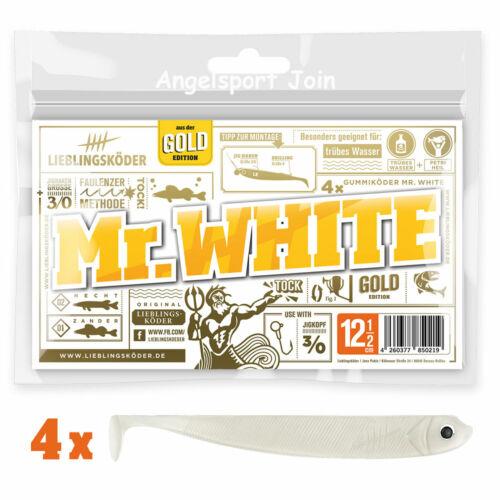 White 12,5 Cm Rubber Fish Favorite Bait Shad Mr