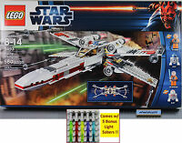 Lego Star Wars - 9493 X-wing Starfigher Nisb Luke Skywalker R2-d2t Minifigure