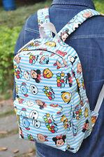 "TSUM MICKEY tsum blue  15/"" backpack shoulder bag laptop bags  Big AZ15 NEW"