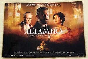 FINDING ALTAMIRA rare promo book ANTONIO BANDERAS Rupert Everett BOOKLET