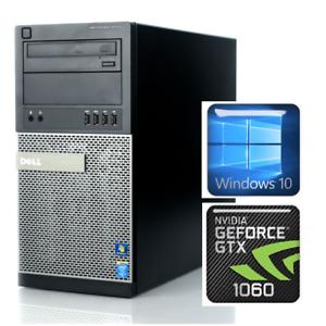 Details about DELL Gaming PC Intel Core i5 3 7GHz/GTX 1060 3GB DDR5/1TB  HDD/12GB RAM/Wi-Fi