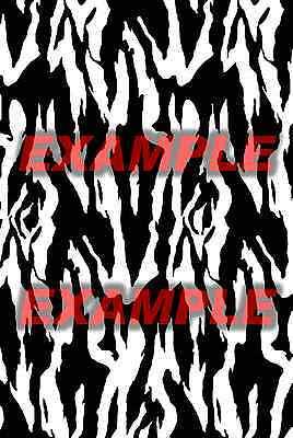 Cerakote Duracoat Snake Skin Stencil Reptile Vinyl Paint Camouflage Camo Home