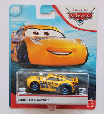 DISNEY PIXAR CARS 3 DINOCO CRUZ RAMIREZ SAVE 6/%