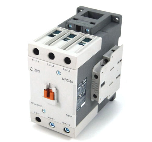 New Cerus Contactor MRC-85L-208VAC 85Amp 208VAC Coil *2 Year Warranty*