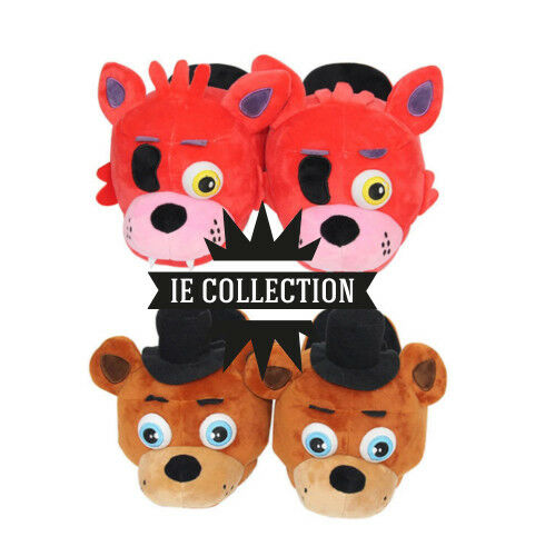 Five Nights at Frossody's Ciabatte Peluche cosplay Fazbear Foxy plush slippers 4 5