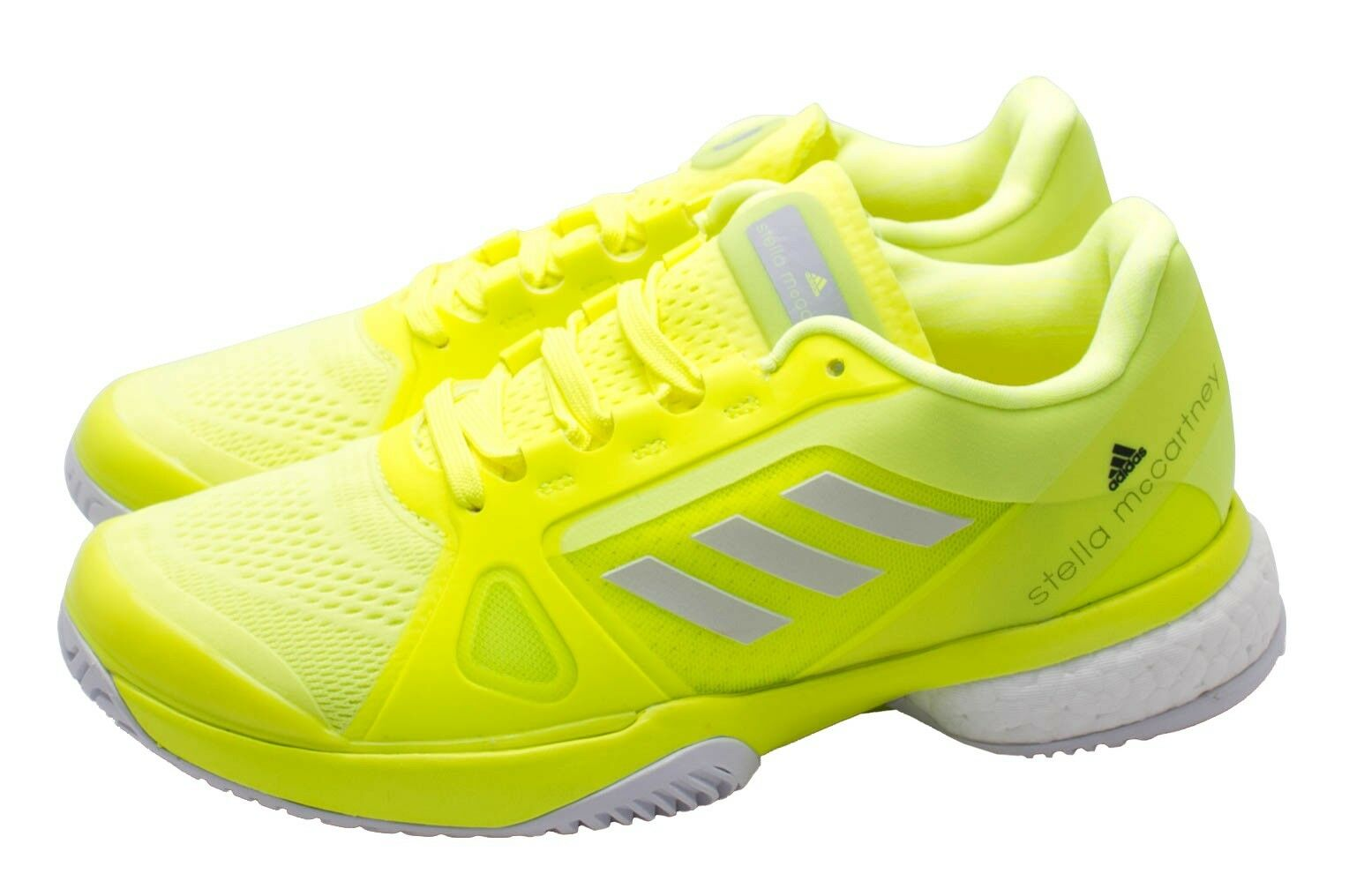 Adidas Donna Tennis Stella McCartney Barricade Shoes Yellow BB5050 us 11.5 new
