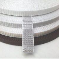 Rolladen Gurt Gurtband 10, 12, 14mm Rollladen weiß, grau