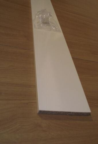 KICK BOARDS 2x  2.8M HIGH GLOSS CREAM     kitchen// bedroom   UNIVERSAL PLINTHS