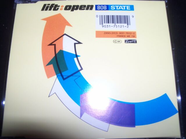 808 State Maxi - CD Lift / Open Your Mind CD Single – Like New