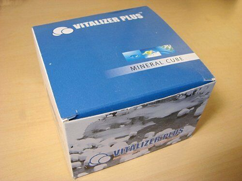 Mineral Cube for the Water Vitalizer Plus