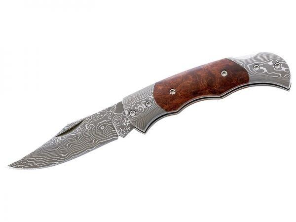 Herbertz 201408 Damaszener Taschenmesser 71 Lagen 6,2 cm Klinge Messer