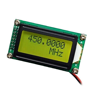 0.1MHz~65MHz 6 LEDs Frequency Meter Counter Tester Digital Cymometer Module Color:Green