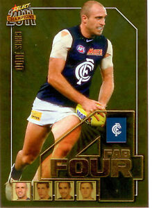 2011-Select-AFL-Champions-Fab-Four-Gold-Card-FFG9-Chris-Judd-Carlton