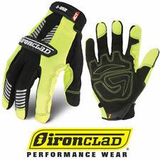 Ironclad Ivg2 Hi Vis Green Reflective Safety Work Gloves Select Size
