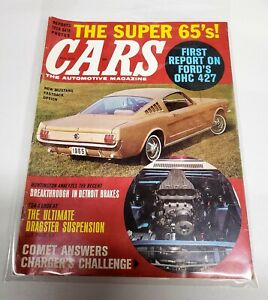 Cars The Automotive Magazine November 1964 Ford Mustang Fastback 1965 427 Ebay
