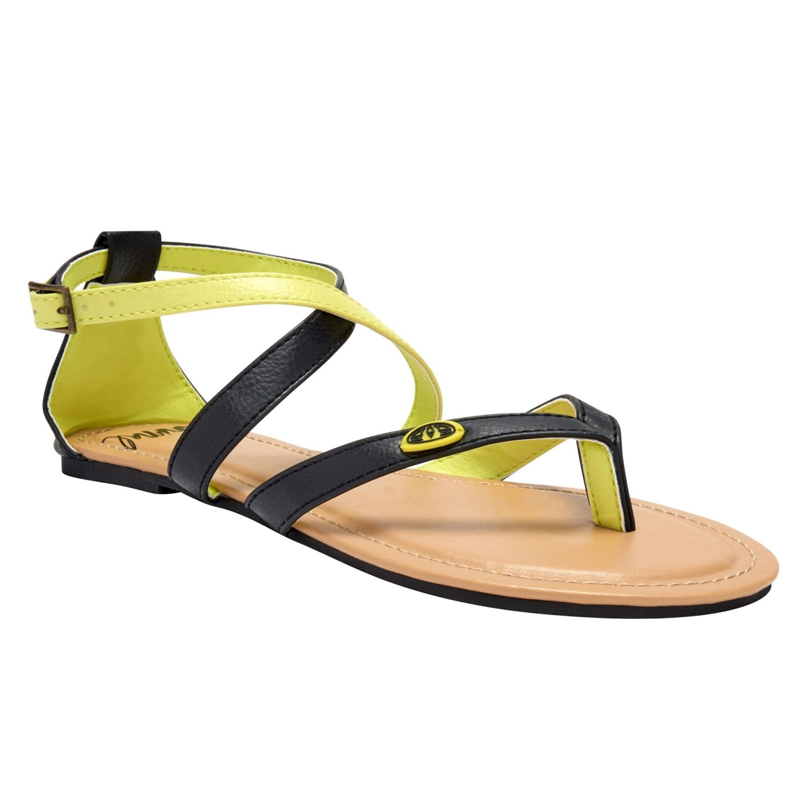 ANIMAL NEW Women's Napa Flip BNWT Flops Yellow BNWT Flip ad2fa4