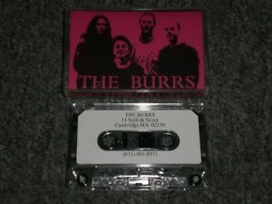 The Burrs~Self-Titled Cassette Tape~Private Label 1996 Indie Rock~Alternative